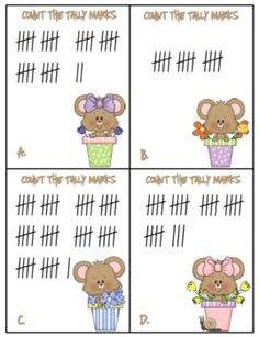 Common Core Math FREEBIE for First grade (Tally Marks). to starting at any number less than Math Classroom, Kindergarten Math, Teaching Math, Classroom Ideas, Maths, Teaching Ideas, Math Stations, Math Centers, Work Stations