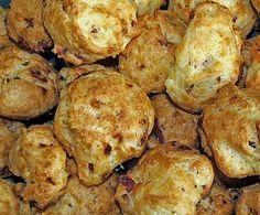 Rezept Schinken-Käse-Krapfen (Brandteig) von tomtailor - Rezept der Kategorie Backen herzhaft