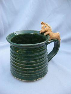 horse mug on etsy!   Love this!