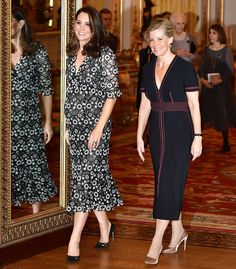 Kate Middleton Steps Out in Black-and-White for Fashion Event Amid BAFTA Dress Code Backlash