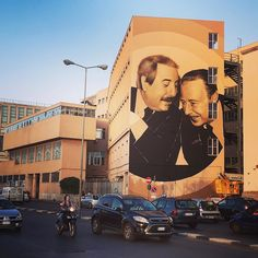 #murales #palermo #lavala #istitutonautico #artewiva questa è la Palermo che ci piace!! #falcone #borsellino