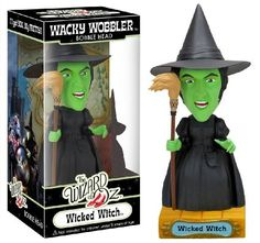 Amazon.com: Funko Wizard of Oz: Wicked Witch Wacky Wobbler: Toys & Games