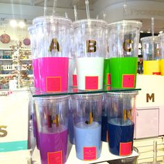 kate spade new york initial dipped tumblers | our #1 gift of the season