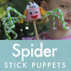 Stick puppets: TOOOOO CUTE!