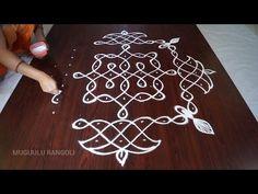 latest melikala muggulu || melikala muggulu || melikala muggulu with dots || small melikala muggulu - YouTube