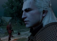 An incredibly young and pretty Geralt [[ Totally lore breaking ]] Now with Younger Geralt version Compatible with Blood and Wine DLC & Patch GOTY Edition The Witcher 3, The Witcher Books, Witcher Art, Witcher 3 Wild Hunt, Geralt Of Rivia, Ciri, Scoia Tael, Pillars Of Eternity, Art Base
