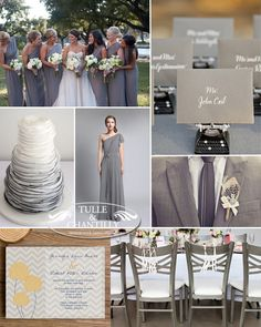 shades of grey wedding color ideas for rustic fall inspired weddings 2014-2015