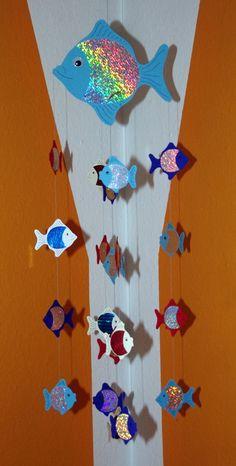 ber ideen zu fisch mobil auf pinterest mobiles origami fisch und h ngendes mobil. Black Bedroom Furniture Sets. Home Design Ideas