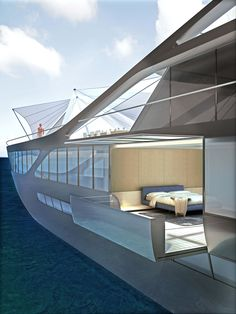 Jolly Roger 65m mega-yacht by Ludovica & Roberto Palomba for Benetti _
