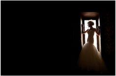 Dramatic shadows make for a high fashioned bridal shoot • Jenny DeMarco Photography • www.jennydemarco.com • Austin, Tx • Chateau Bellevue •