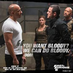 You've gotta get your hands dirty to do the job right - Fast And Furious 6 - #Movies