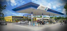 The fuel station for SASOL at Midstream Ridge by arc Architects Pretoria. Pretoria, Architects, Retail, Outdoor Decor, Home Decor, Decoration Home, Room Decor, Building Homes, Sleeve