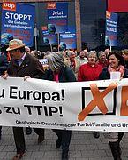 ÖDP Bundesverband: ÖDP: CETA bis Ende Juli unterschriftsreif?
