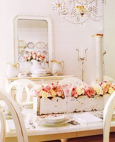 with the whites - Shabby Chic