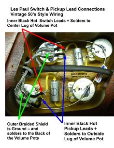 gibson les paul jr wiring diagram google search my guitars jonesyblues les paul wiring tips diy videos