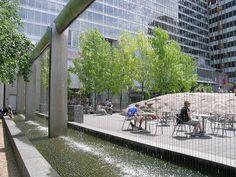 Yorkville Park 01, Toronto;   designed by Oleson Worland Architects in association with Martha Schwartz / Ken Smith / David Meyer Landscape Architects