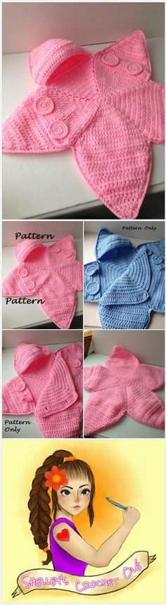 Pattern - Crochet Baby Star Bunting Pattern - Baby Bag Bunting - Crochet Pattern - Instant Download