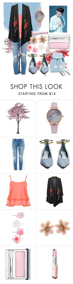 """""""flowers //  Jungkook"""" by taetaeasia ❤ liked on Polyvore featuring beauty, Vivani, Ted Baker, Fabrizio Viti, WearAll, Accessorize, Van Cleef & Arpels, Clinique, Laneige and Sugarbaby"""