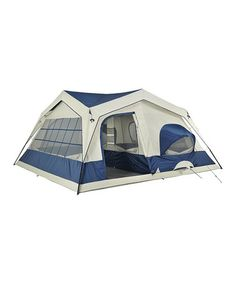 I would love to glamp up a tent and this looks like one that might work.  Take a look at this Happy Camper Northpole Tent with Porch by Gone Campin' Collection on #zulily today!