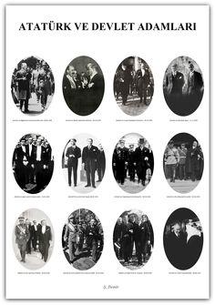 Atatürk ve Devlet adamları. 1928 - 1937