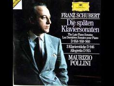 Schubert / Pollini, 1983: Klaviersonate A-Dur D. 959 - Complete - YouTube