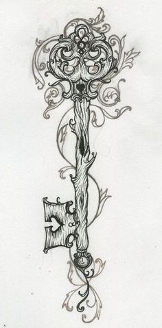 key tattoo if-i-had-the-guts