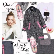 """""""SheIn 4"""" by barbarela11 ❤ liked on Polyvore featuring H&M, Balenciaga, Converse, Winter, chic, Sheinside, winterstyle and shein"""