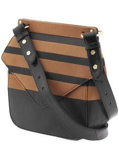 Pissa Stripe Crossbody by Pour La Victoire Striped Bags fc0abe975d63a