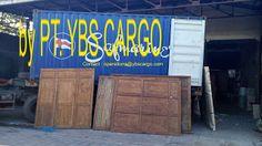 YBS Cargo, PT: Old Teakwood Panel & Door in Loading
