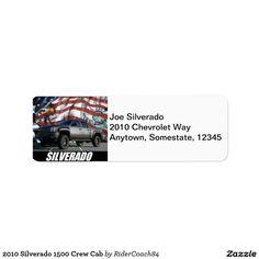 2010 Silverado 1500 Crew Cab Label