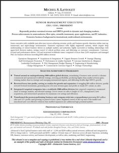 this ceo resume sample illustrates the depth and complexity that goes into writing an executive resume with an emphasis on car resume writing techniques