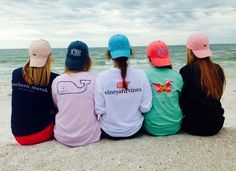 Monograms, Southern Marsh and Vineyard Vines