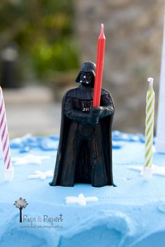 This Darth Vader Candle is the Best for a Star Wars Party