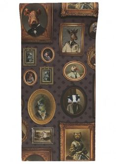 Our Graduate Collection Portrait Gallery Wallpaper designed by Charlotte Cory will add a great conversation piece to your home. It will instantly change the whole feel of the space and the whole mood of the people in that space.