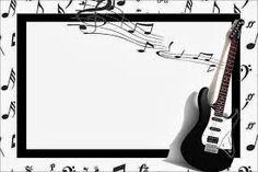 Resultado de imagen para invitaciones de xv años de notas musicales para descargar gratis