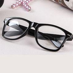 Fashion Men Women Optical Eyeglasses Frame Glasses With Clear Glass Brand Clear Transparent Glasses Women's Men's Frames