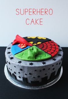 Top 25 Superhero Cake Recipes and Ideas For Boys