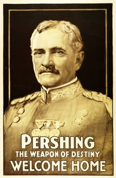 Military Poster / Print: Pershing - the weapon of... | Pritzker Military Museum & Library | Chicago