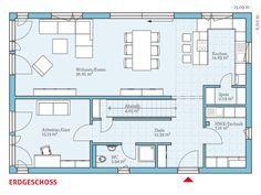 Fertighaus und Energiesparhaus - Variant 25-192 EG