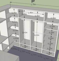 ideas for master bedroom closet designs Walk In Closet Small, Walk In Closet Design, Small Closets, Closet Designs, Master Closet Design, Closet Ideas For Small Spaces, Walk Through Closet, Dream Closets, Wardrobe Room