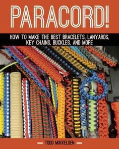 Todd Mikkelsen's Paracord! offers a diverse collection of projects that utilize parachute cordsknown around the world as paracord. Used by paratroopers and other military personnel during World War II