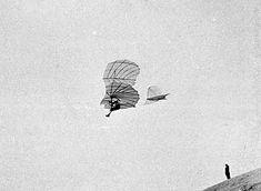 Lilienthal in flight - 1895