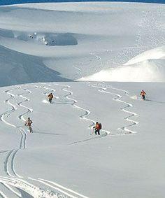 Skiing #skiing