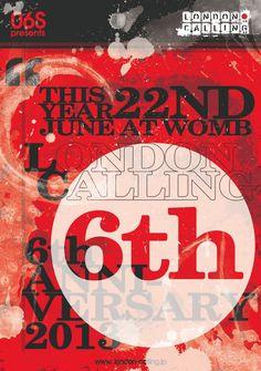 RA: O6S presents London Calling's 6 Year Anniversary, Tokyo (2013)