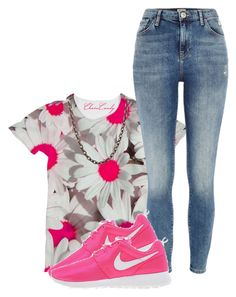 """""""It Ain't Nothing New."""" by myia-bored-ass ❤ liked on Polyvore featuring River Island, NIKE and Sevan Biçakçi"""
