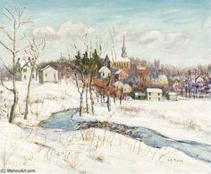 Sellersville de Walter Emerson Baum (1884-1956, United States)