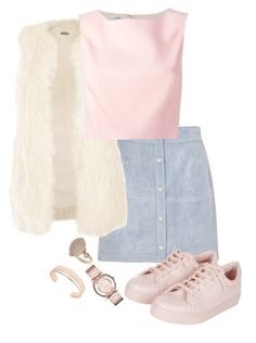 """""""Untitled #221"""" by lauralovefashion1 ❤ liked on Polyvore featuring River Island, Jakke, Topshop, Oscar de la Renta, Leith, Marc by Marc Jacobs, women's clothing, women's fashion, women and female"""
