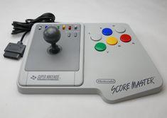 Score Master Controller Joypad Controller Joystick Fu ̈ R Super Nintendo / Snes Arcade, Joystick, Ps Wallpaper, Super Nintendo, Scores, Games, Ebay, 35, Google Images