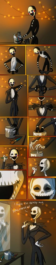 The puppet in his Jack Skellington costume. I hope you like it (and sorry for bad english)