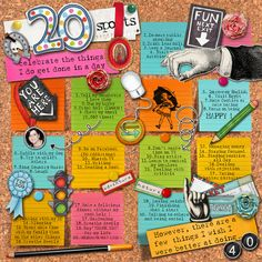 Dare #204   Credits:                                                                             My Personal Notes by Paula Kesselring Designs (post-its, brads, cork, hands, nail, typewriter alpha); Arrows by Inspired by Dominic Designs (Tiffany Berman); Flowers by creashens (kbits4); Alpha bringonthe cake and doodles (going places/are we there yet/ winter games/doggie days/scrapping 9 to 5 ) by Kate Hadfield; Nicho Ornaments & Frames by Kitschy Digitals; Font : F***** Olympia.        TFL!